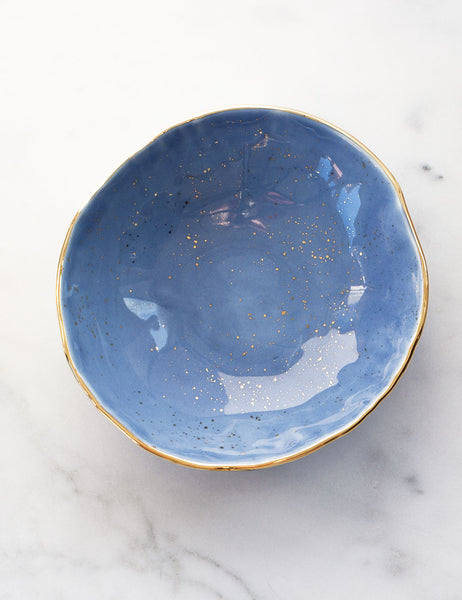 Hand-Built Porcelain Serving Bowl #5