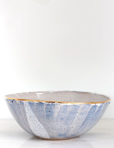 Stoneware Centerpiece Bowl: The Heathcliff