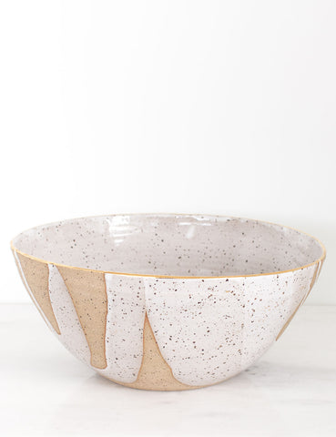 Stoneware Centerpiece Bowl: The Everly