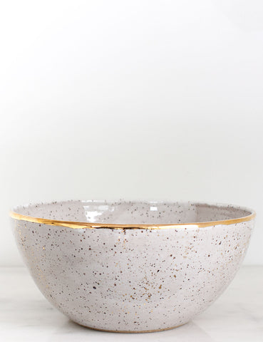 Stoneware Centerpiece Bowl: The Terra
