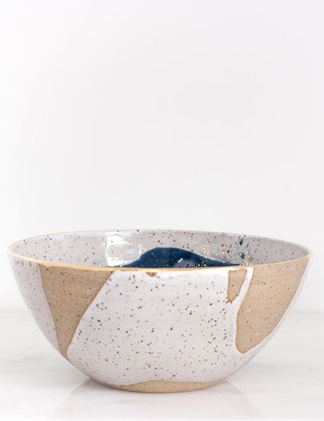 Stoneware Centerpiece Bowl: The Lilah