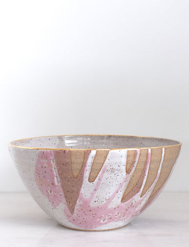Stoneware Centerpiece Bowl: The Mariposa