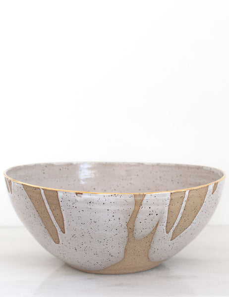 Stoneware Centerpiece Bowl: The Nala