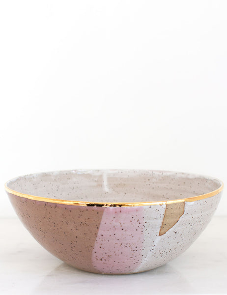 Stoneware Centerpiece Bowl: The Firenze