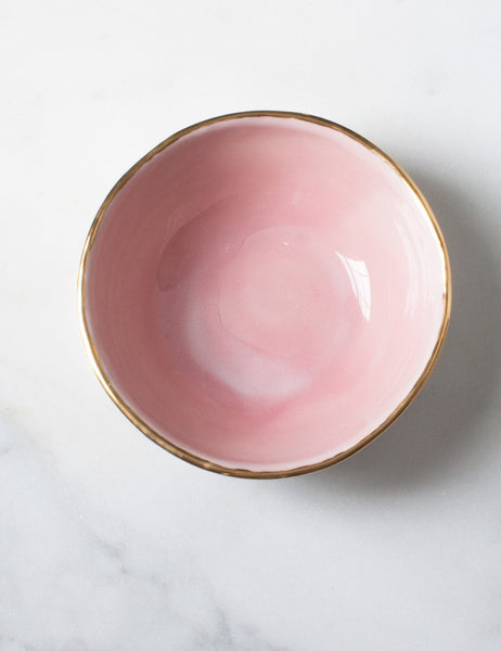 Everyday Bowl in Rose and White Sample