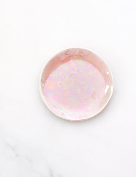 Limited Edition: Ring Dish in Pearl Rose