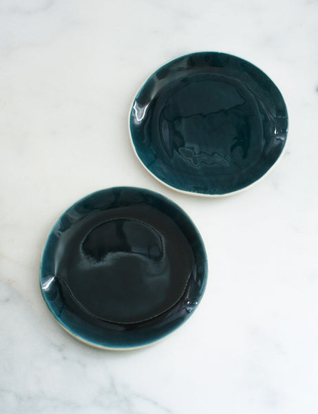 Seconds Tourmaline Dessert Plates (set of two)