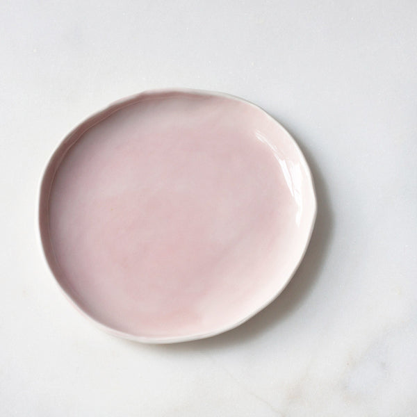 Seconds Dessert Plates in Rose (individual plate)