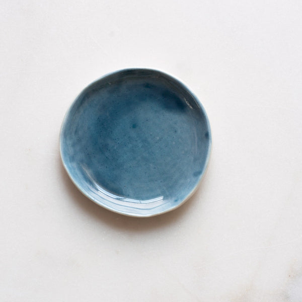 Seconds Sale Ring Dish in Aegean Blue