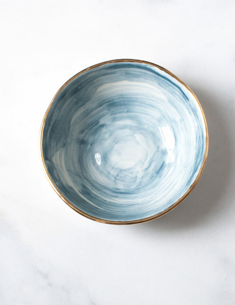 Everyday Bowl in Tourmaline Watercolor Sample