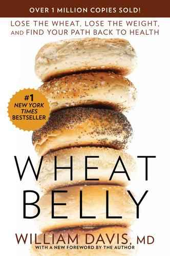 Wheat Belly book cover stack of bagels