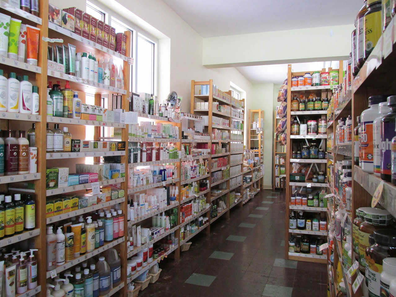 In 2013, the shop is looking clean and tidy with a new coat of paint