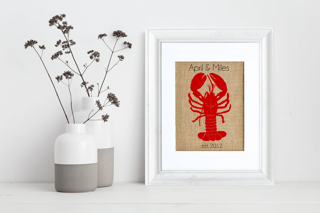 Lobster Monogram