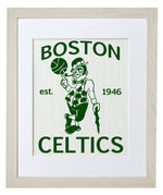 Boston Celtics (white burlap)