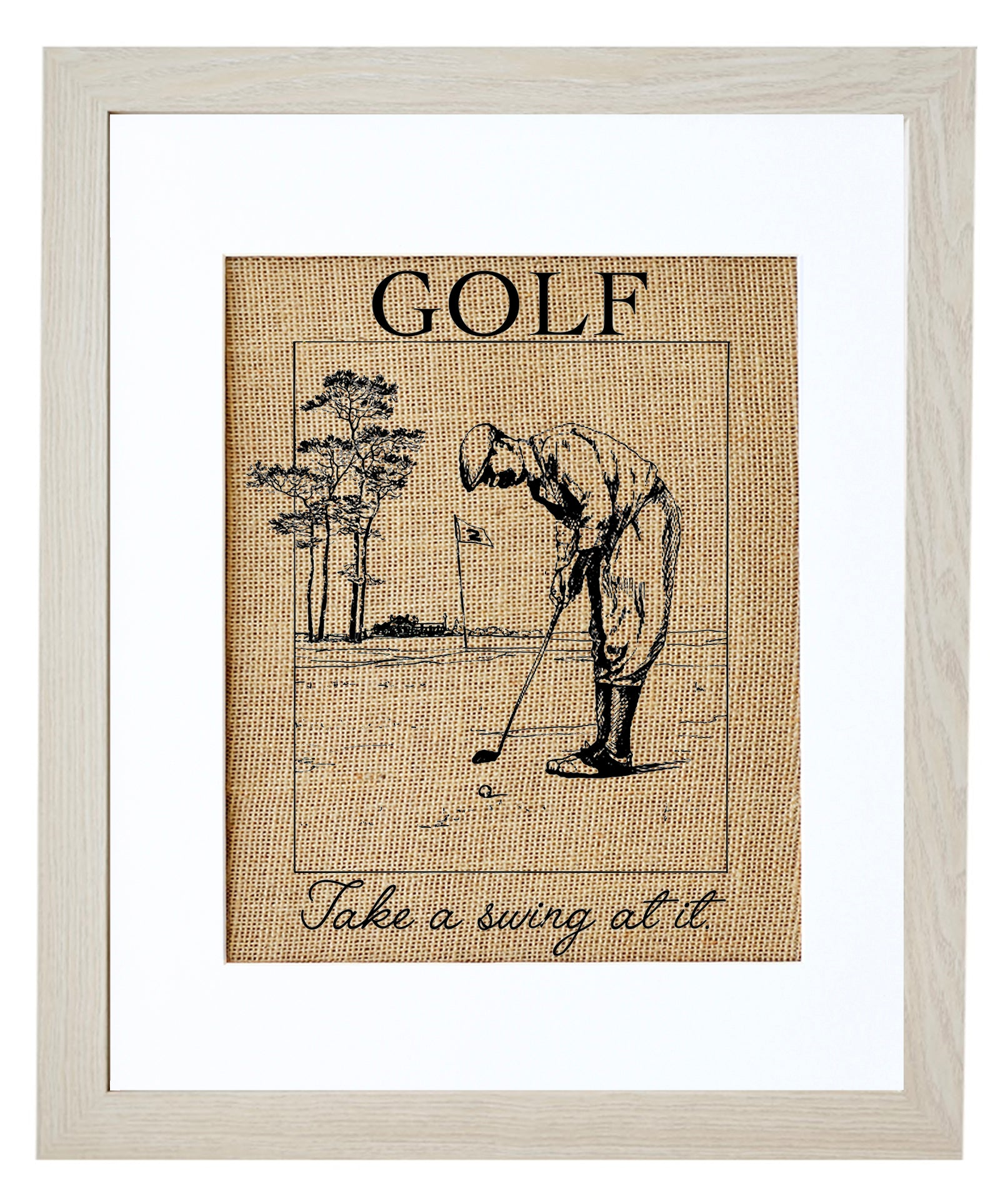 Golf, Take a Swing at it