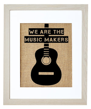 We are the Music Makers