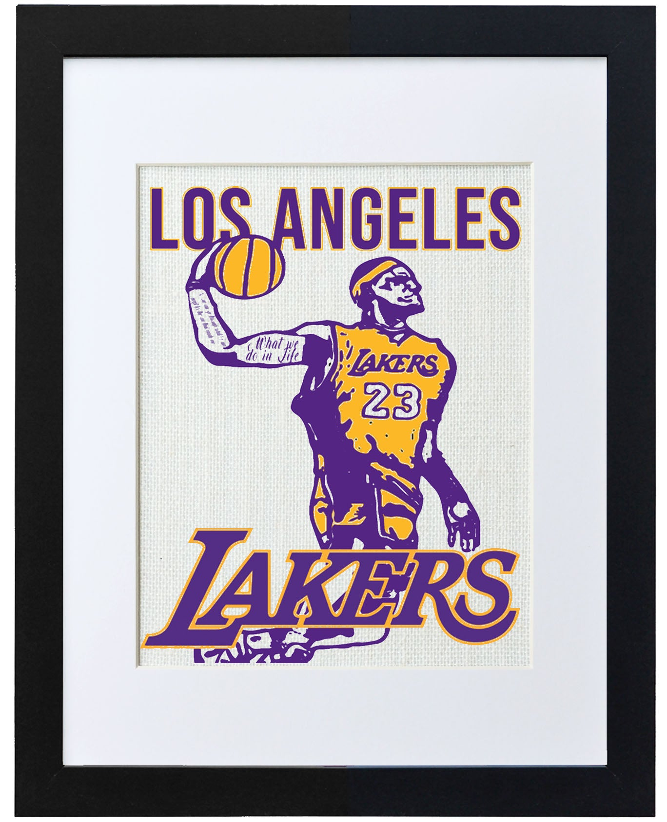 Los Angeles Lakers Lebron James Edition