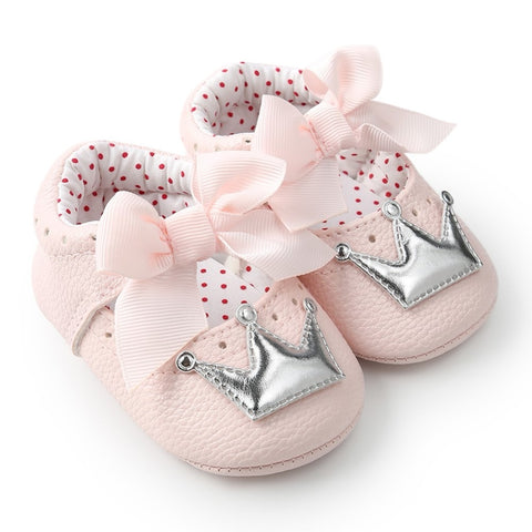 Baby Girl Cute Dots Shoes