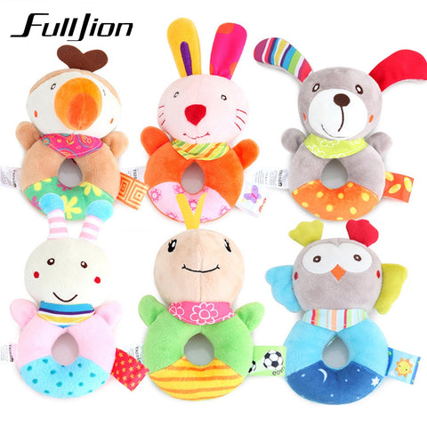 Fulljion Baby Cute Animal Musical Stroller Toys