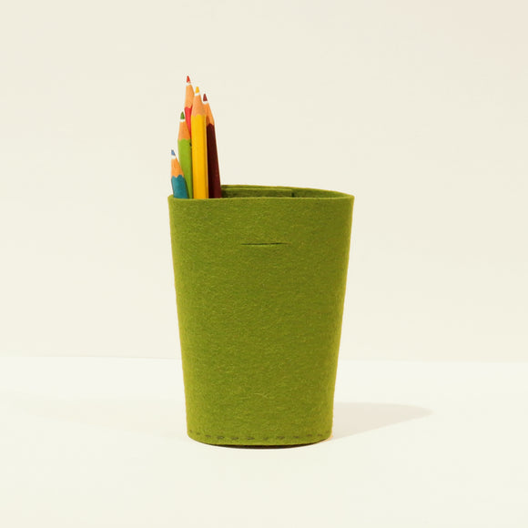 Villa felt pencil holder