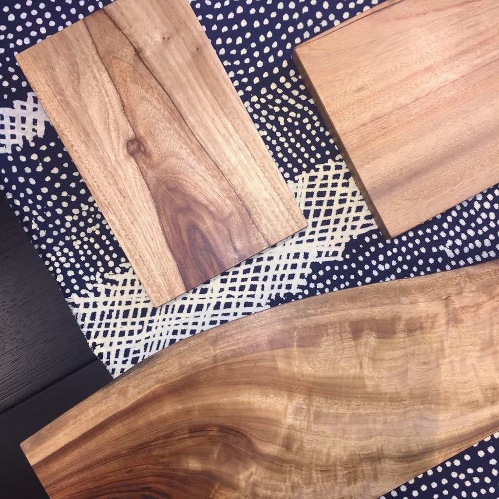 Camphor laurel cutting board
