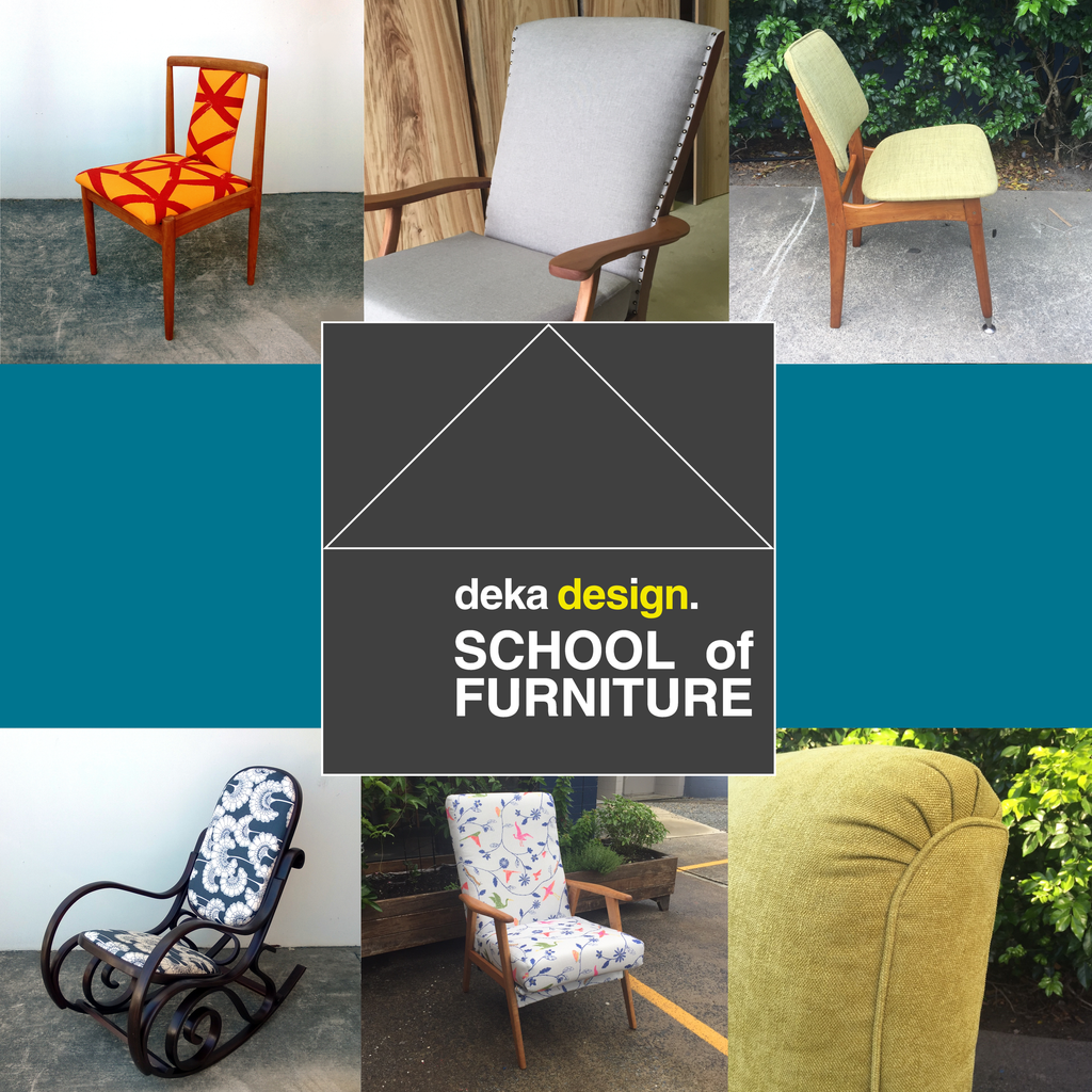 Furniture Restoration and Upholstery Classes, October - November 2020