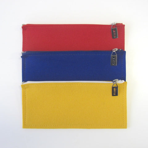 Villa wool felt pencil case