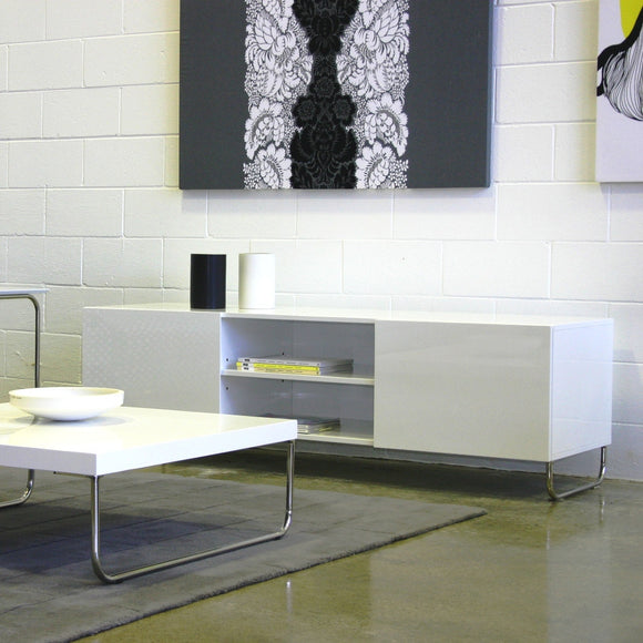 Fuji credenza with Fuji coffee table