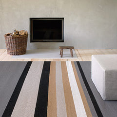 Woodnotes paper yarn rugs
