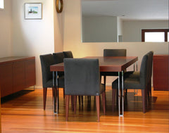 Jacqueline dining table with Markus chairs
