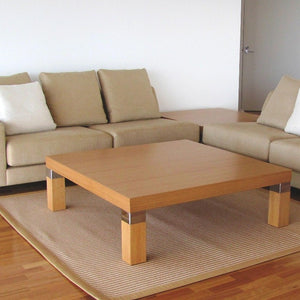 Markus coffee table with Markus sofas