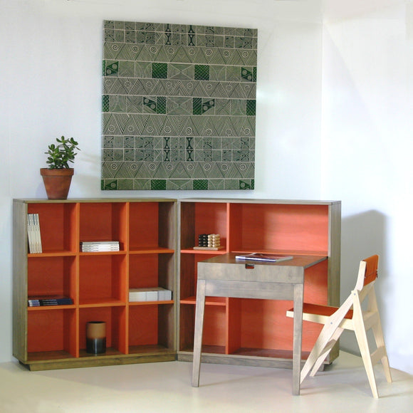 trans-form-it bookcase/desk