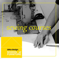 Beginner's upholstery sewing sessions - cushions