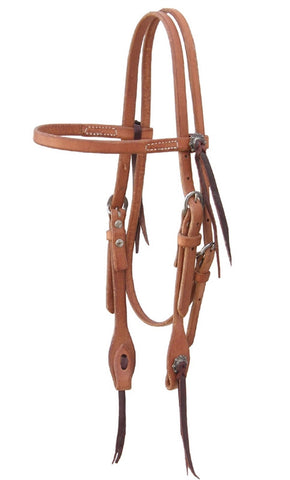 Cactus Harness Browband Single Ply Headstall