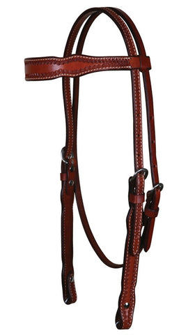 Cactus Chestnut Browband Headstall