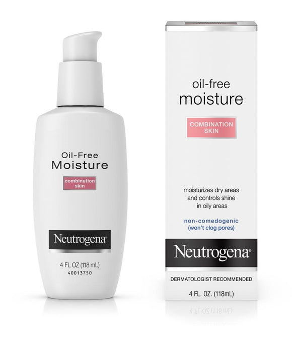 Neutrogena Oil-Free Moisture-Combination Skin 4 fl.oz