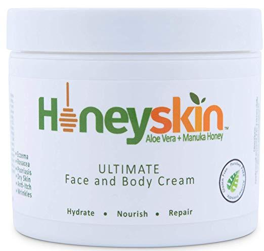 Honeyskin Ultimate Face and Body Cream 2 oz