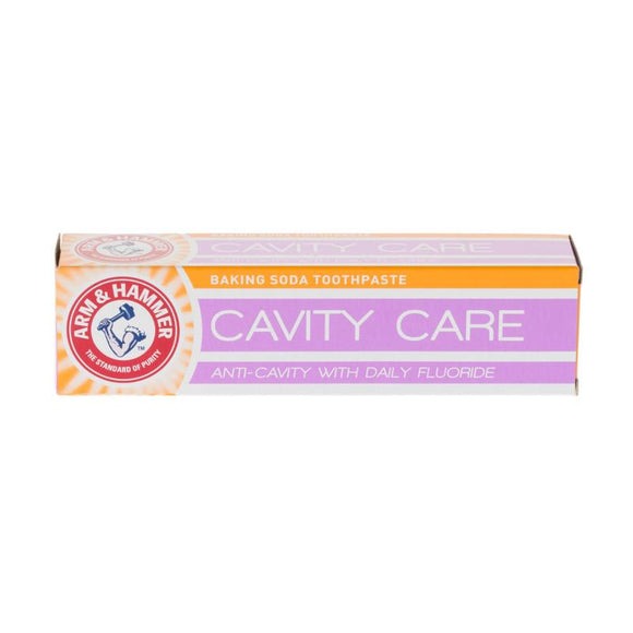 Arm and Hammer Baking Soda Toothpaste Cavity Care Anti-Cavity with Daily Fluoride 125g