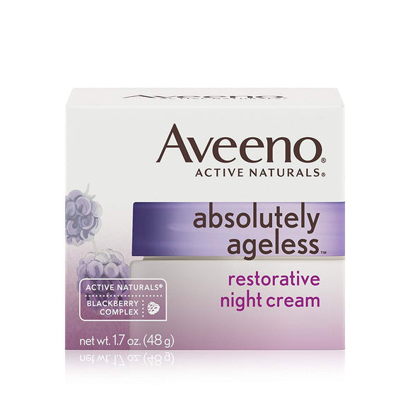 Aveeno Absolutely Ageless Restorative Night Cream (1.7 oz / 48g)