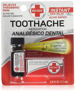 Red Cross Toothache Complete Medication Kit 3.7 ml