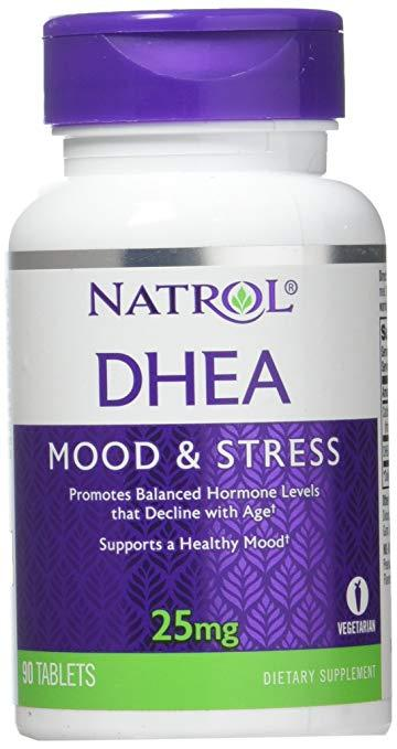 Natrol DHEA Mood and Stress 25mg (90 Tablets)