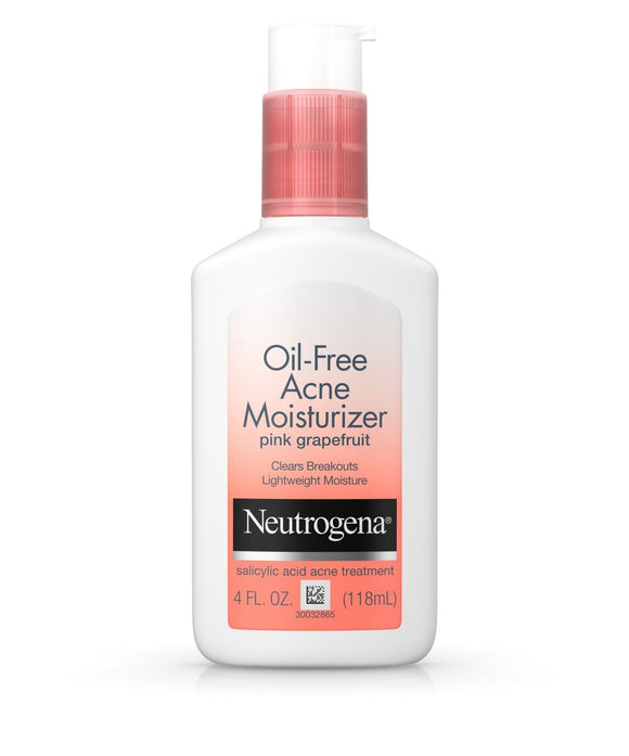 Neutrogena Oil-Free Acne Moisturizer Pink Grapefruit 4 fl.oz
