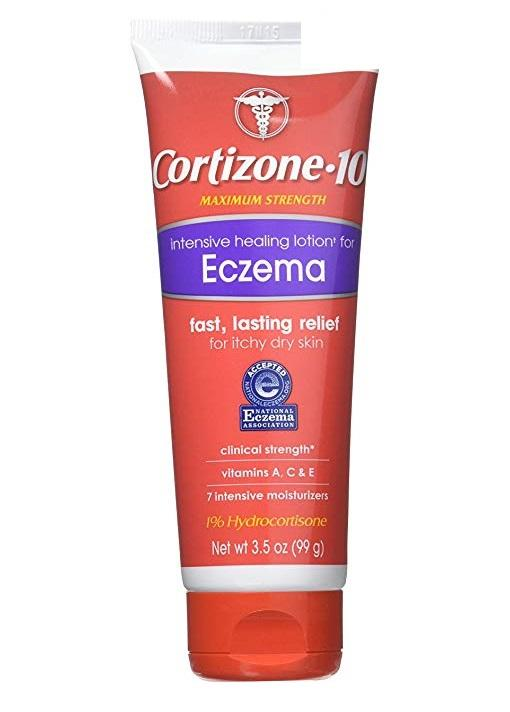Cortizone-10 Intensive Healing Lotion for Eczema (3.5 oz / 99 g)