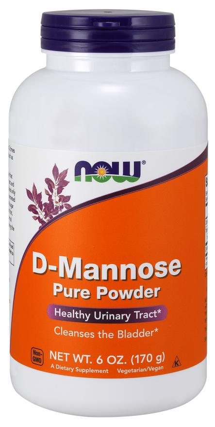 Now Foods, D-Mannose Pure Powder (6 oz / 170 g)