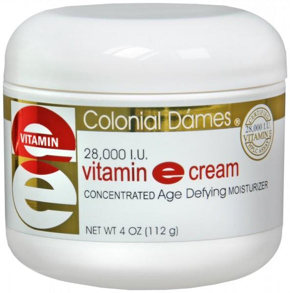 Colonial Dames Vitamin E Cream 28, 000 IU 4 oz (112 g)