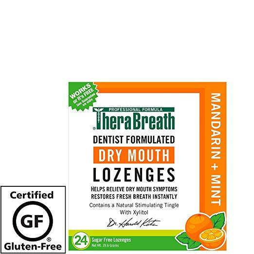 TheraBreath Lozenges (Mandarin Mint, 24 Count)