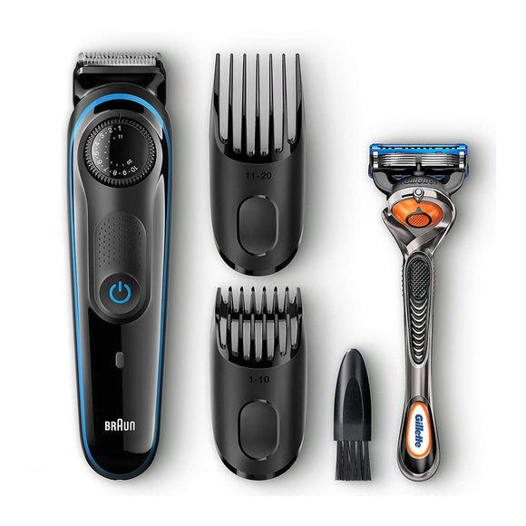 Braun BT3040 Men's Ultimate Hair Clipper/Beard Trimmer with 39 Length Settings for Ultimate Precision