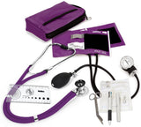 Prestige Medical Aneroid Sphygmomanometer / Sprague-Rappaport Nurse Kit, Purple