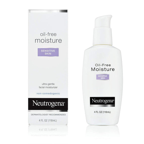 Neutrogena Oil-Free Moisture Sensitive Skin Ultra-Gentle Facial Moisturizer 4 fl.oz