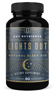 Key Nutrients Lights Out, Natural Sleep Aid 60 Veggie Capsules